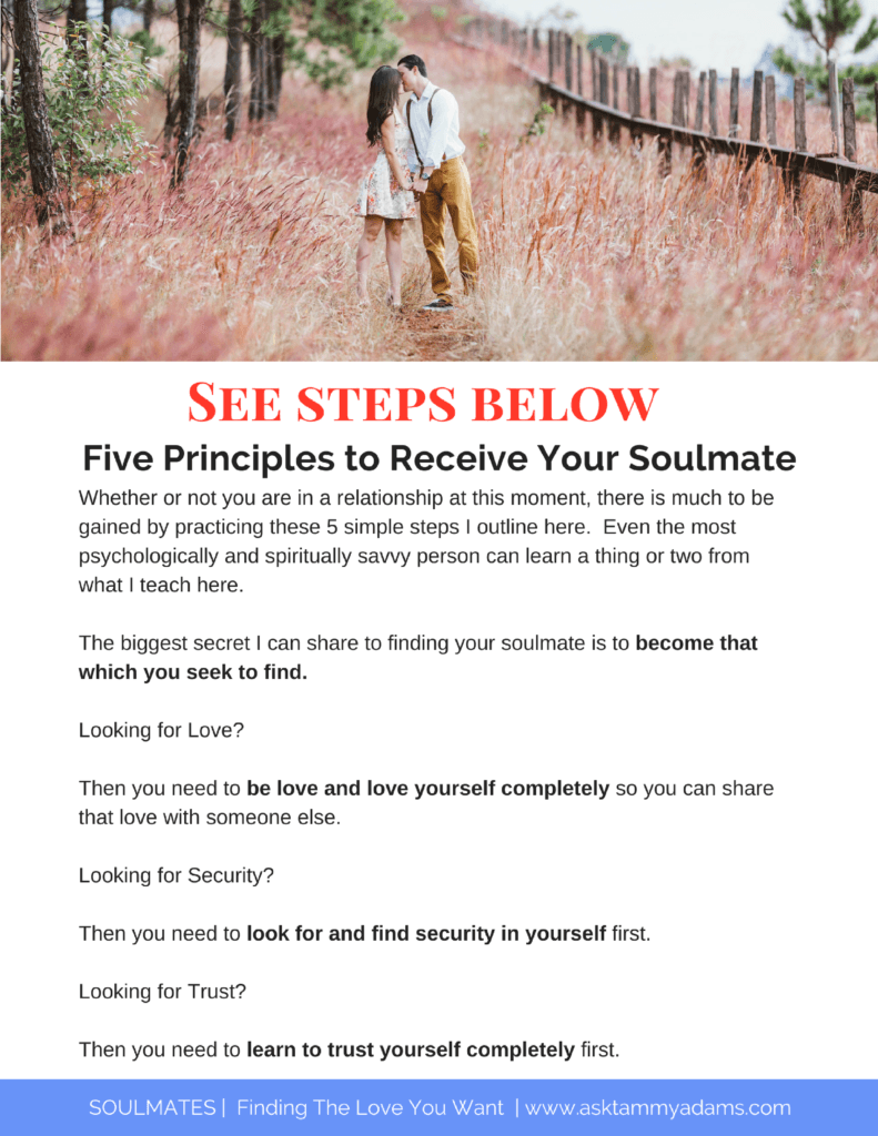 Receive Your Soulmate